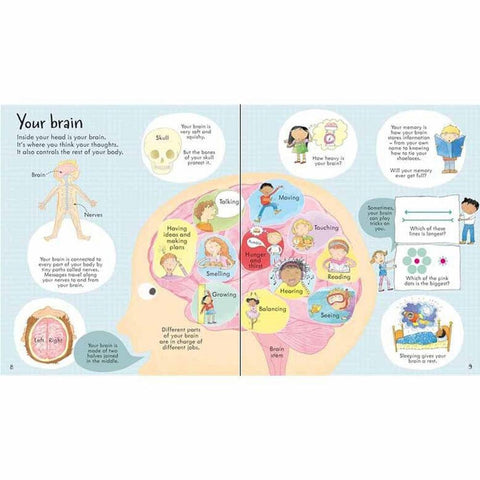 Usborne Look Inside Your Body-books-Harper Collins-Dilly Dally Kids