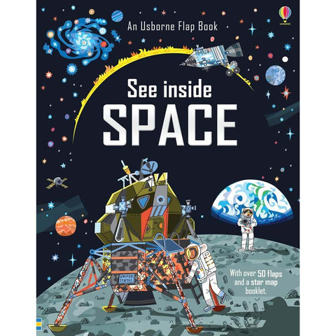 Usborne See Inside Space-books-Harper Collins-Dilly Dally Kids