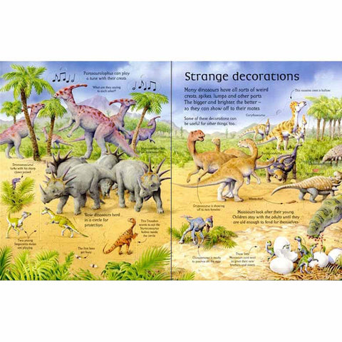 Usborne See Inside the World of Dinosaurs-Science & Nature-Harper Collins-Dilly Dally Kids