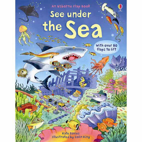 Usborne See Under the Sea-science & nature-Harper Collins-Dilly Dally Kids