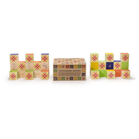 Vietnamese ABC blocks-blocks & building sets-Uncle Goose-Dilly Dally Kids