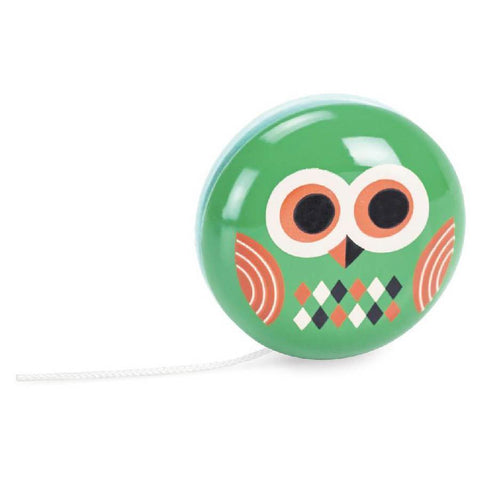 Vilac owl yoyo-pocket money-Fire the Imagination-Dilly Dally Kids