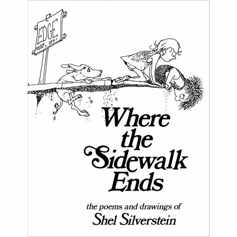 Where the Sidewalk Ends-books-Harper Collins-Dilly Dally Kids