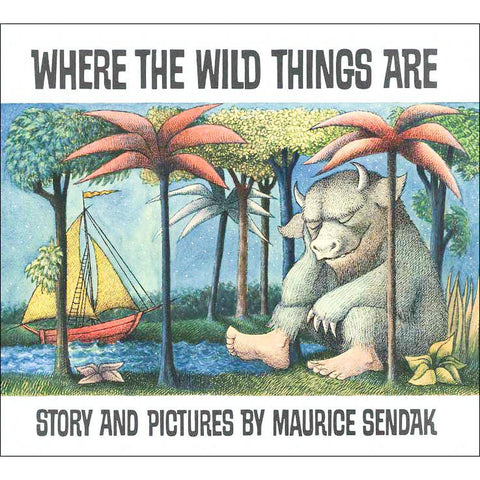 Where the Wild Things Are paperback-books-Harper Collins-Dilly Dally Kids