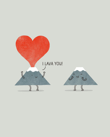 i Lava You - Art print