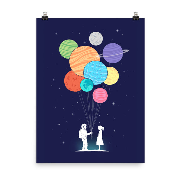 You are my universe - Art print