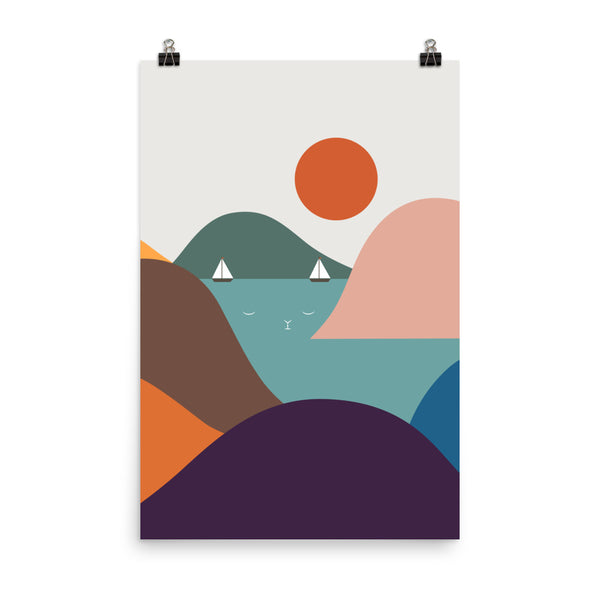 Cat Landscape 12 - Art print