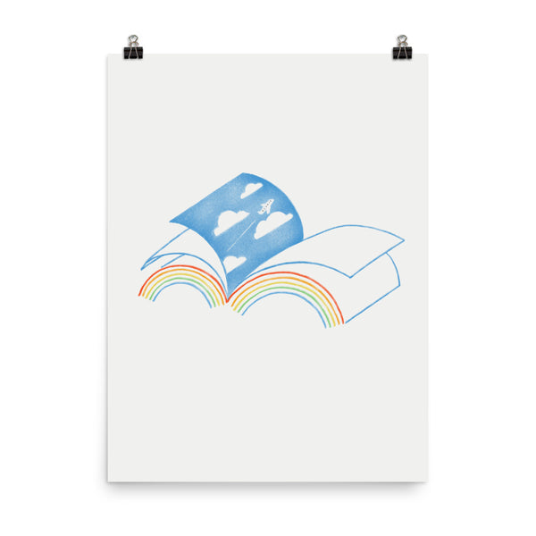 Double Rainbow - Art Print
