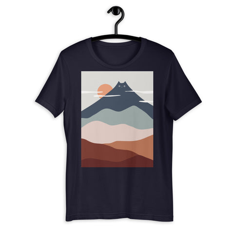 Cat Landscape 21 - Men's T-Shirt