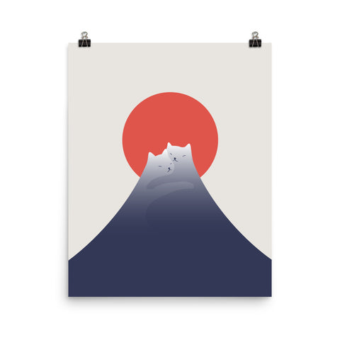 Cat Landscape 98 - Art print