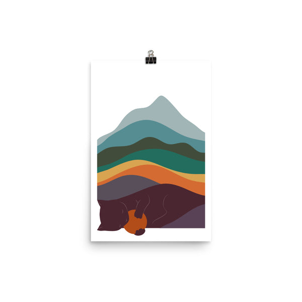 Cat Landscape 8 - Art print