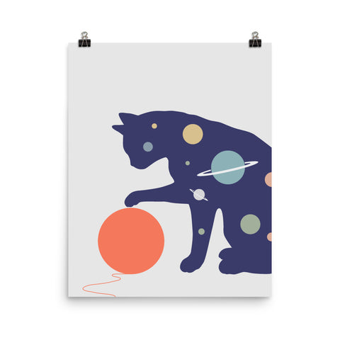 Cat Landscape 51 - Art print