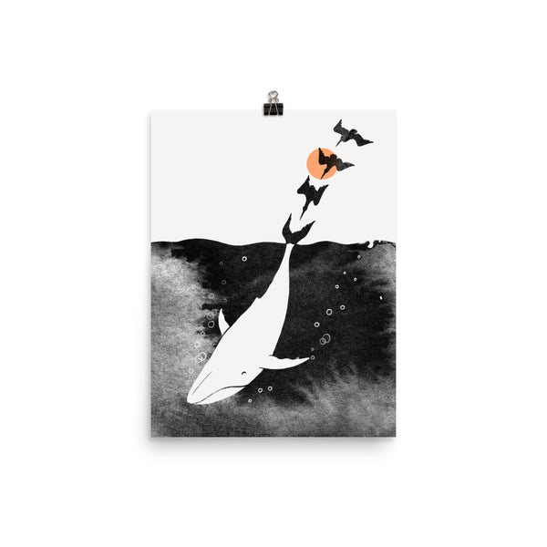 Dive Into Happiness - Art Print