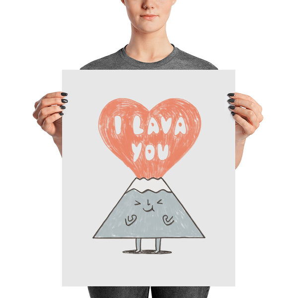 I Lava You 2 - Art Print