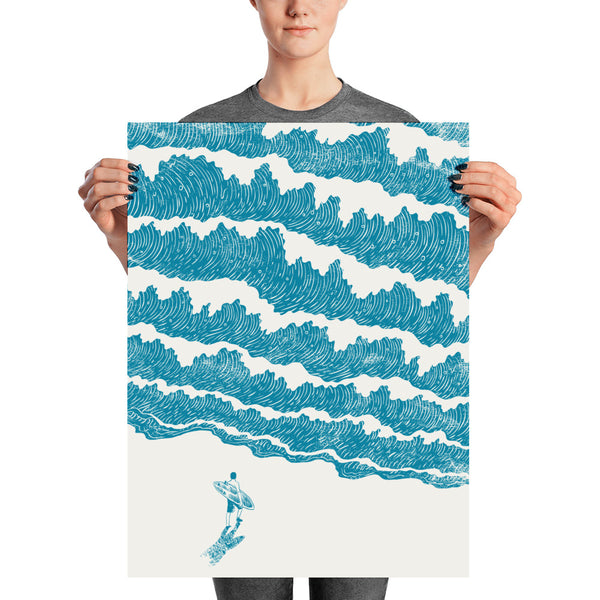 To the Sea - Art print