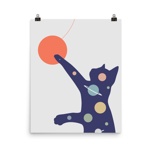 Cat Landscape 50 - Art print