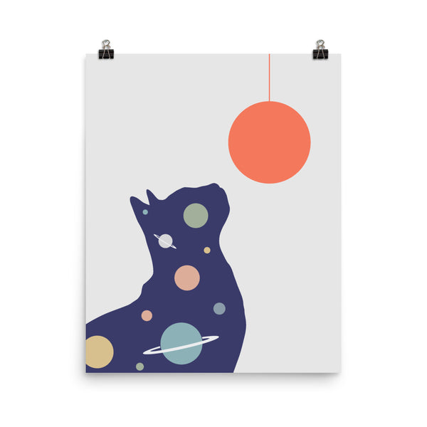 Cat Landscape 49 - Art print