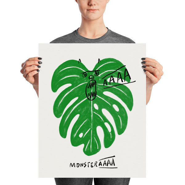 Monstera - Art print