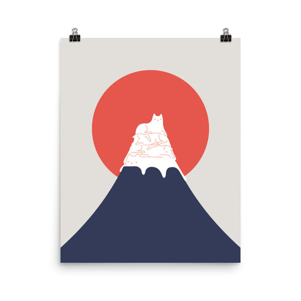 Cat Landscape 30 - Art print