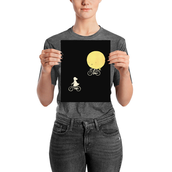 The Moon and Me - Art print