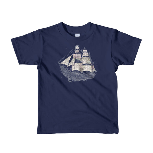 Wherever the wind blows - kids t-shirt