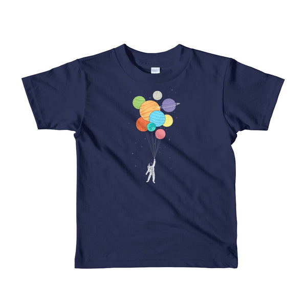 Planets Balloons - kids t-shirt