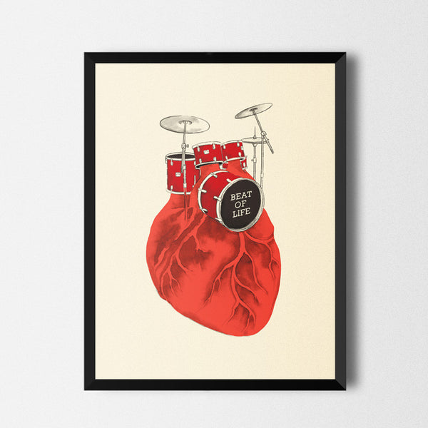 Beat of Life - Art print