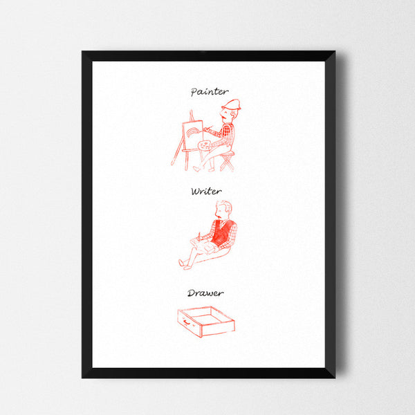 Drawer - Art print
