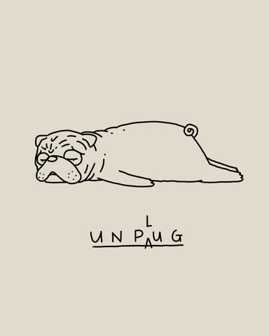 Moody Animals: Pug
