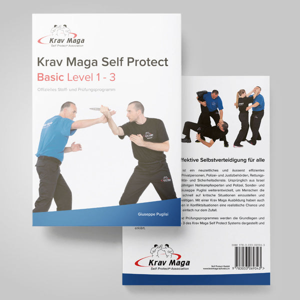Krav Maga Self Protect Basic Level 1 - 3 Stoff- und Prüfungsprogramm