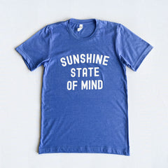 Original Royale Blue Sunshine State of Mind Tee - Florida Brand