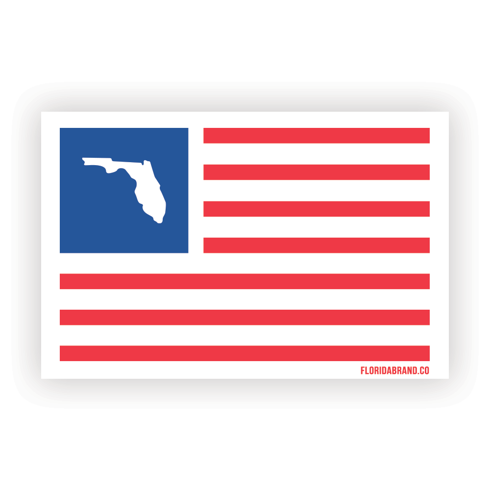 Florida x USA Sticker