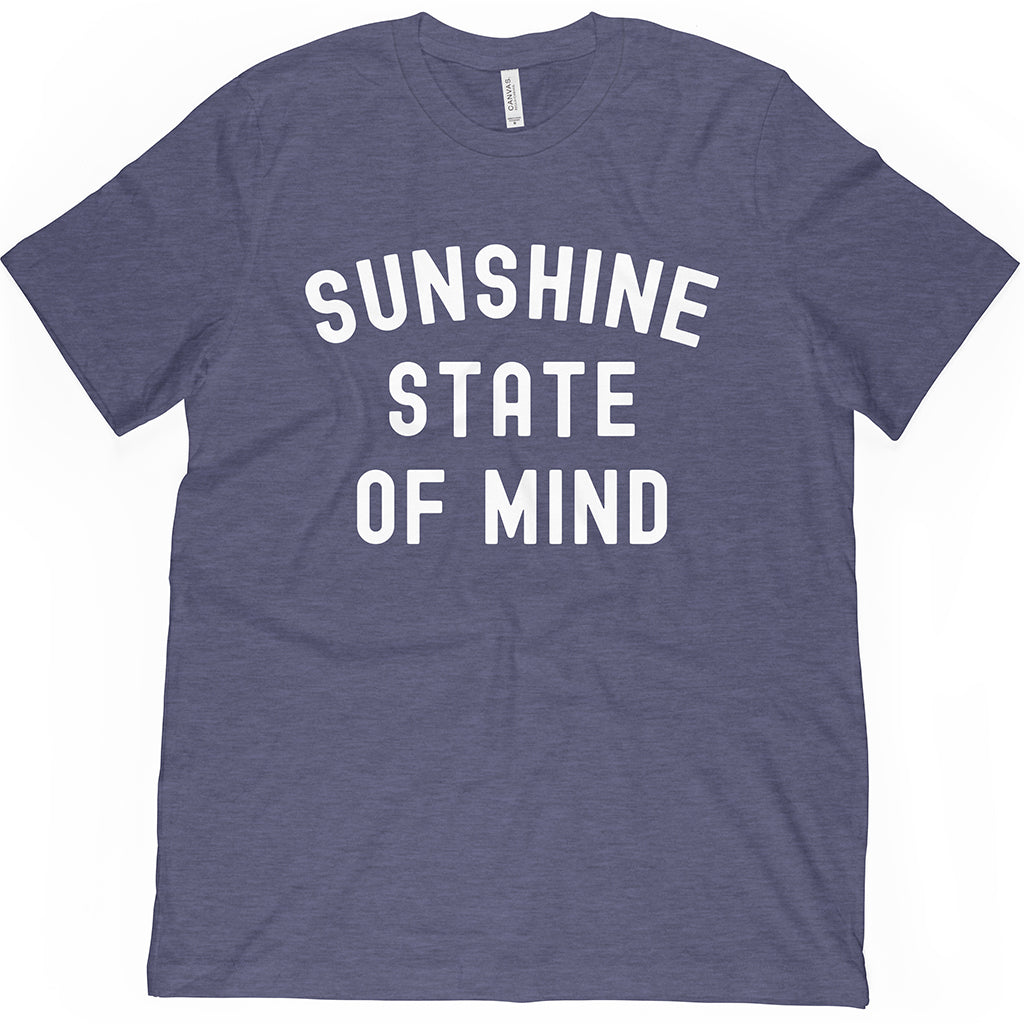 Light Navy Florida T-Shirt. Wear with a Sunshine State of Mind!