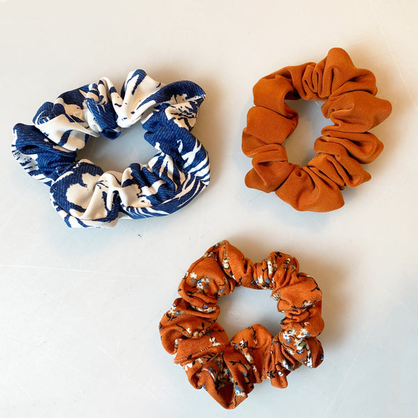 Chouchous Scrunchies (3 Packs) BY THE SEA