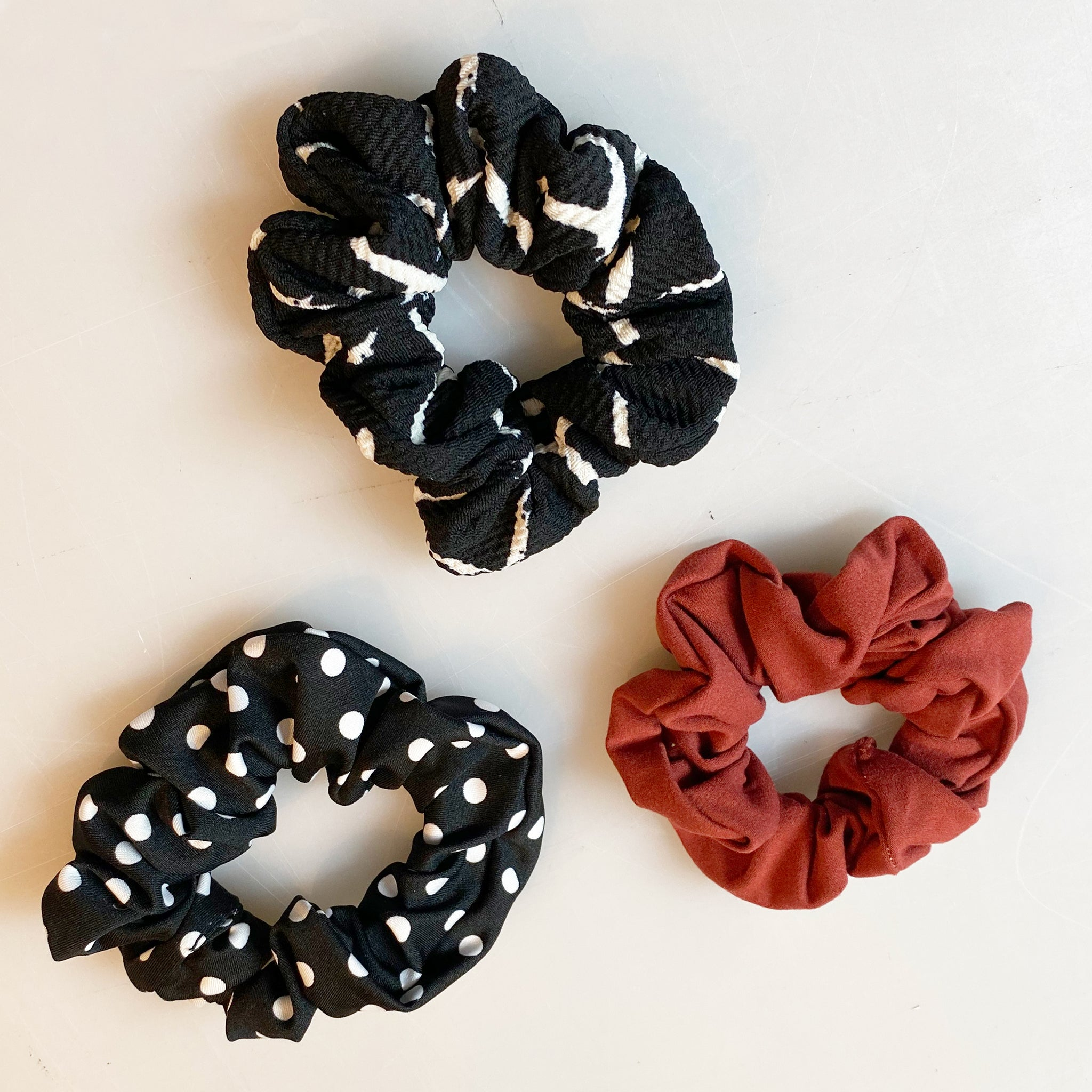 Chouchous Scrunchies (3 Packs) DOT