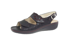 Load image into Gallery viewer, HALLUX BETT TWO STRAP SANDAL WITH CUTOUTS 43-4030