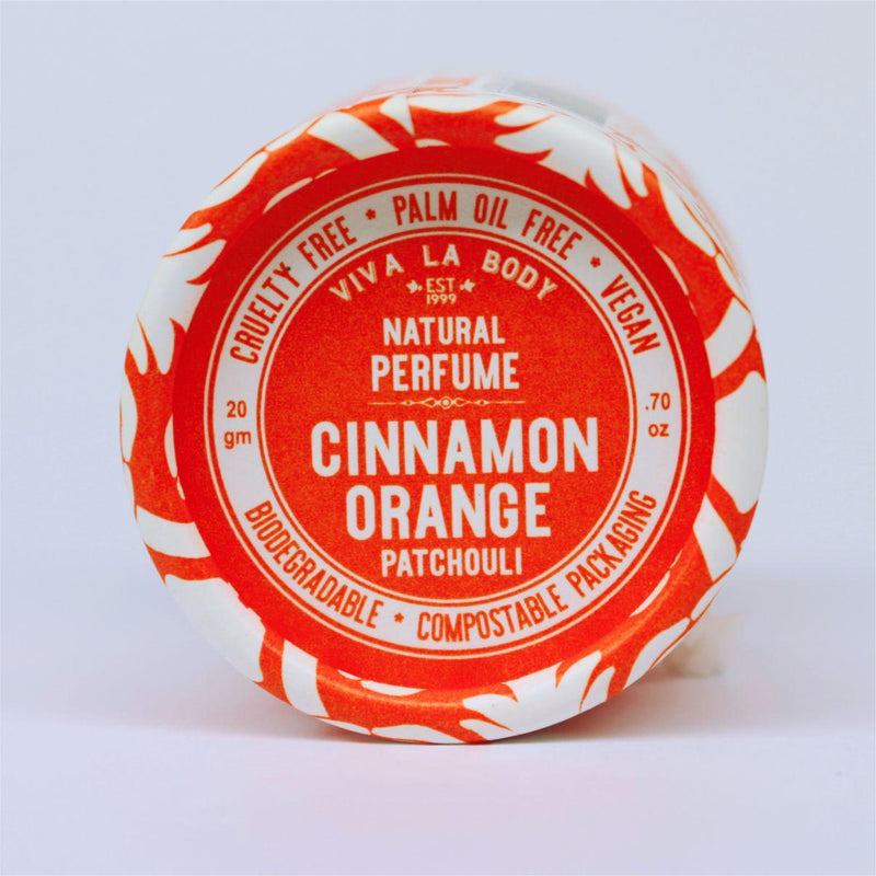 Natural Perfume Cinnamon Orange Patchouli