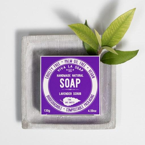 TONE & SMOOTH Lavender Scrub Soap