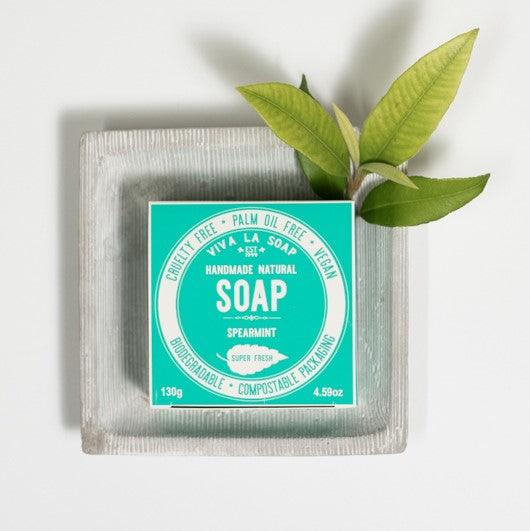 SUPER FRESH Spearmint Soap