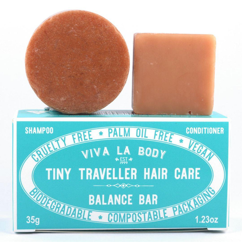 Tiny Traveller Shampoo & Conditioner Balance Bar