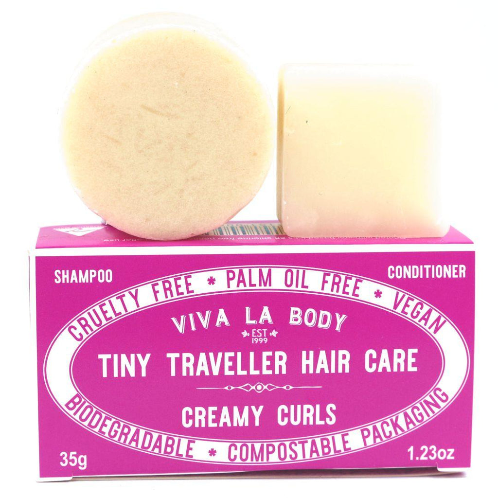 Tiny Traveller Shampoo & Conditioner Creamy Curls