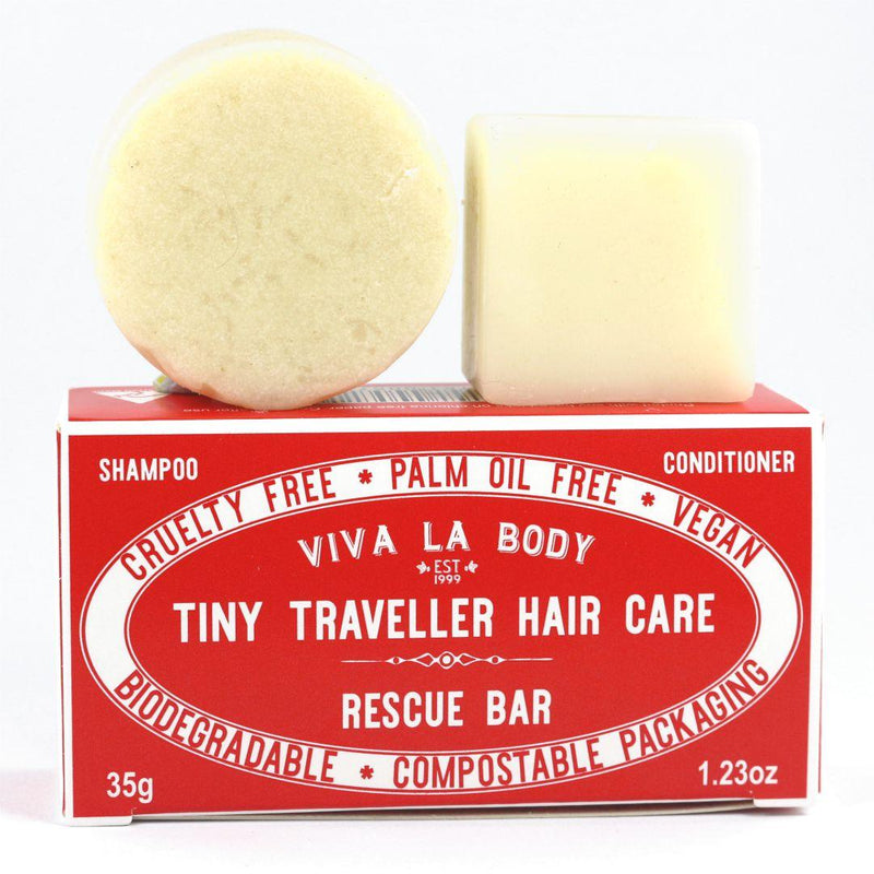 Tiny Traveller Shampoo and Conditioner Rescue Bar