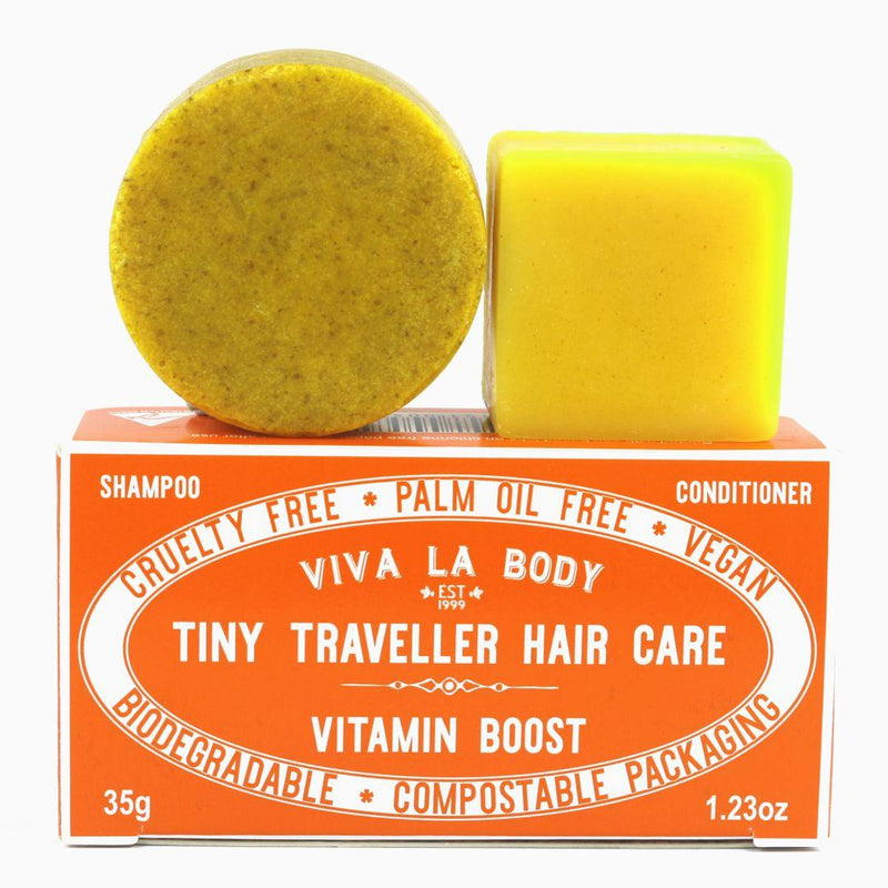 Tiny Traveller Shampoo & Conditioner Vitamin Boost