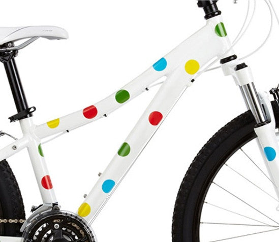 Polka Dots Bike Stickers - Allthatiwant Shop  - 3