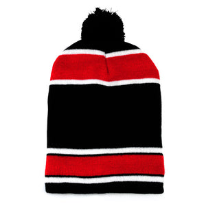 CKLST. Beanie with a bobble - Allthatiwant