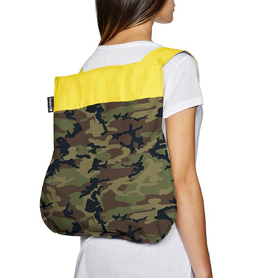 Notabag – Camouflage yellow - Allthatiwant