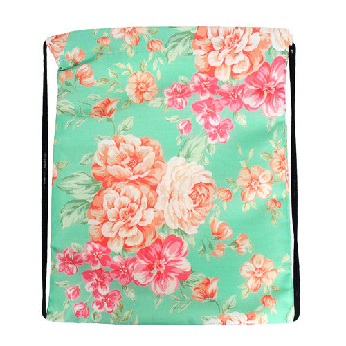 "Turnbeutel ""Mint Flower"" - Allthatiwant Shop  - 2"