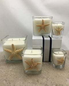 Sugar Starfish Candle Collection