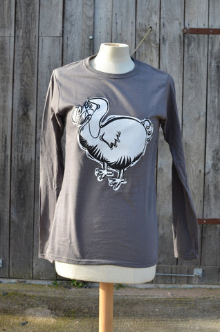 Charcoal Mens Dodo long sleeve top