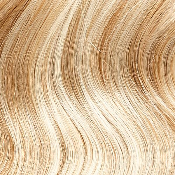 "BRAZILIAN CLIP IN EXTENSIONS 18"" - 18-613 - DIRTY BLONDE STREAKED"